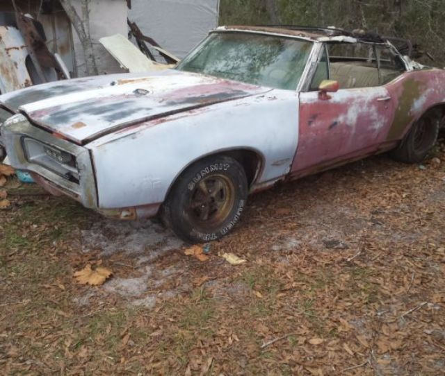 Rare 242 1968 Pontiac Gto Convertible  12 Bolt Posi Project Parts