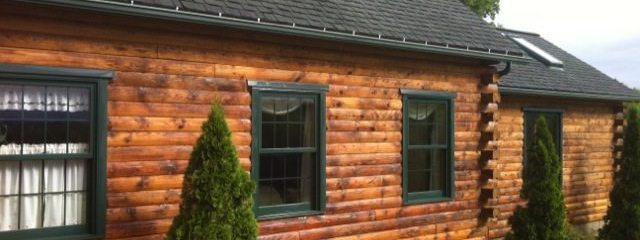 Wood Restoration: How to Strip a Log Cabin Exterior