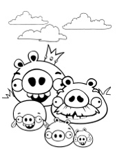 Pictures to color for children