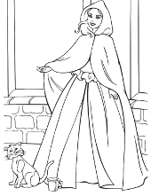Barbie picture to color