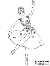 Barbie as a dancer
