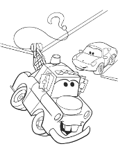 Cars coloring pages, sheets Sally, Lightning McQueen