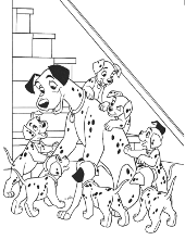 101 Dalmatians children