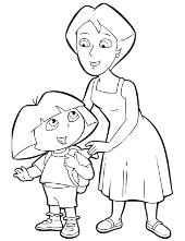 Dora with grandmother