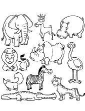 Animal Coloring Pages Topcoloringpages Net