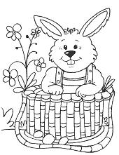 Easter motive for children