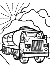 Cistern coloring page