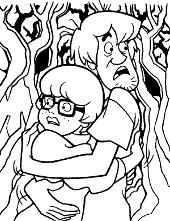 Shaggy and Velma characters