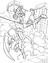 Picture to color with Marvel hero
