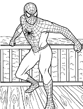 Spider-man printable pictures