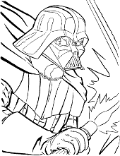 Coloring page Vader
