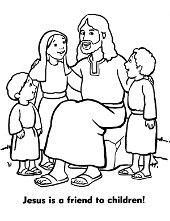 Christ friend of children