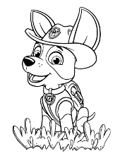 Paw Patrol Free Printable Coloring Pages For Children