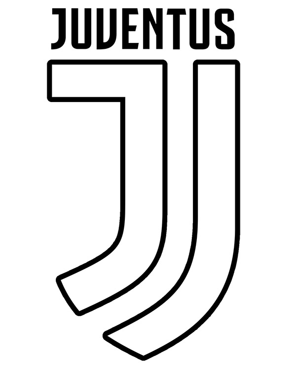 Juventus Turin Crest Coloring Sheet To Print Or Download