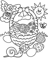 Easter Coloring Pages Topcoloringpages Net