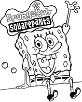 Spongebob Coloring Pages To Print Topcoloringpages Net
