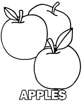 Fruit Coloring Pages For Children Topcoloringpages Net