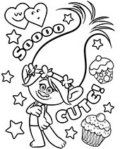 Trolls Coloring Pages To Print Topcoloringpages Net