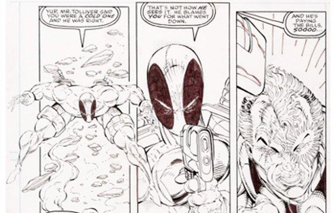 Deadpool encheres