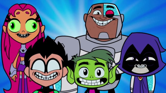 La promo plein d'humour de Teen Titans Go To The Movies