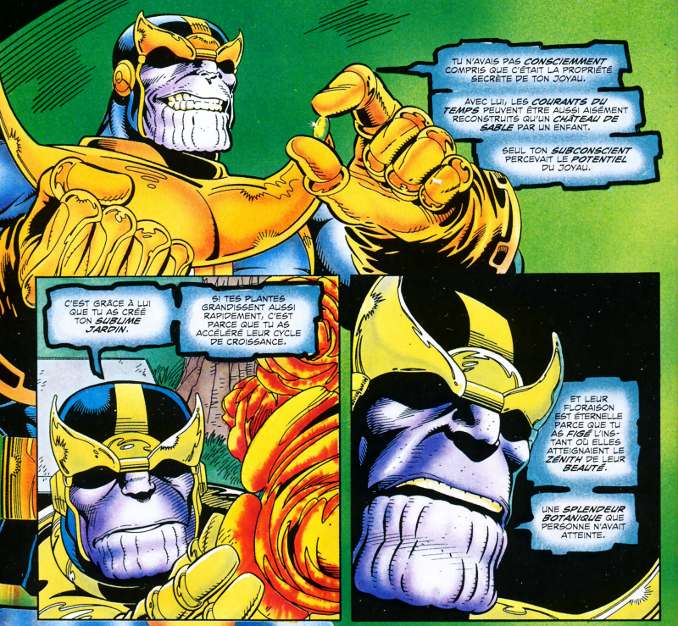 La Quête de Thanos, le comics qui a inspiré Avengers Infinity War