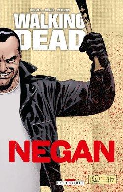 Walking Dead Negan couverture