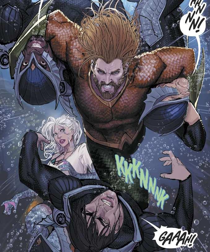 Aquaman part à la reconquête du trône d'Atlantide ! [critique Aquaman Rebirth tome 3]
