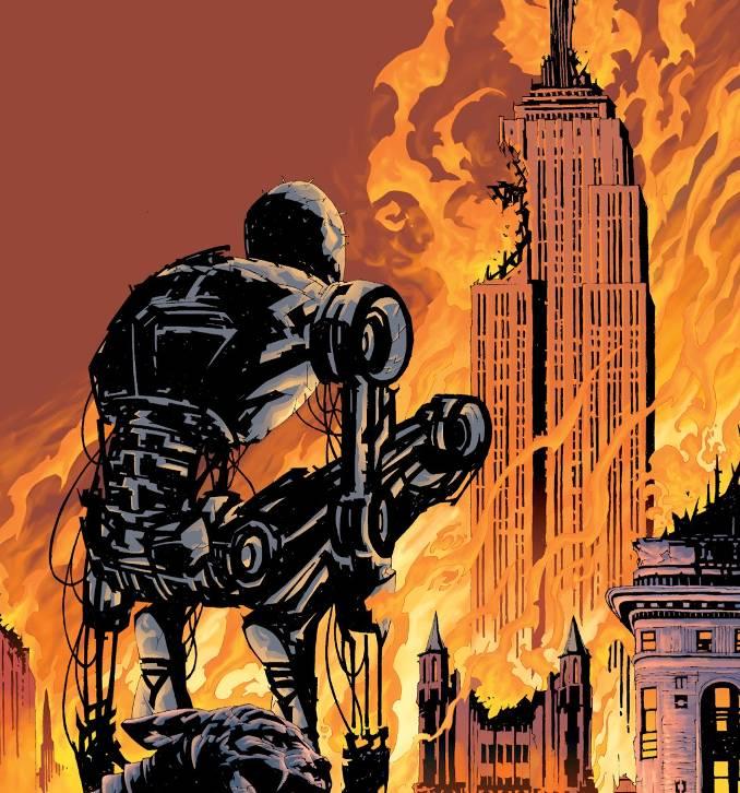comics terminator dark years