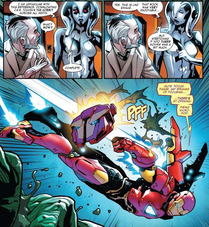 Tony Stark : Iron Man 1