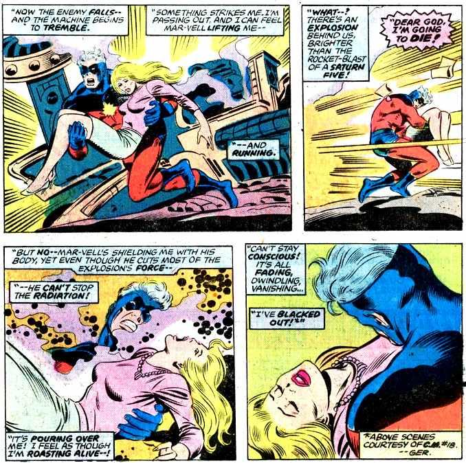 Captain Marvel origines pouvoirs Carol Danvers