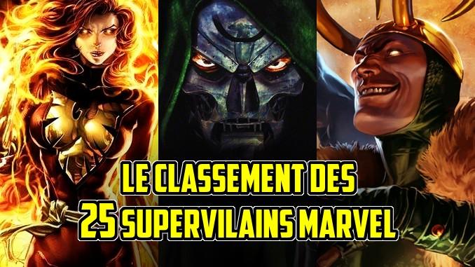 classement supervilains Marvel