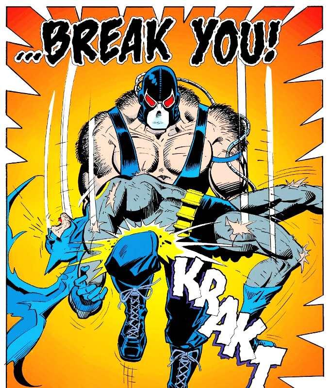 combat Bane Batman