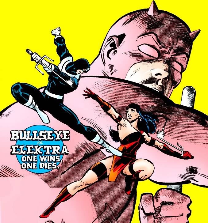 Elektra Bullseye Daredevil