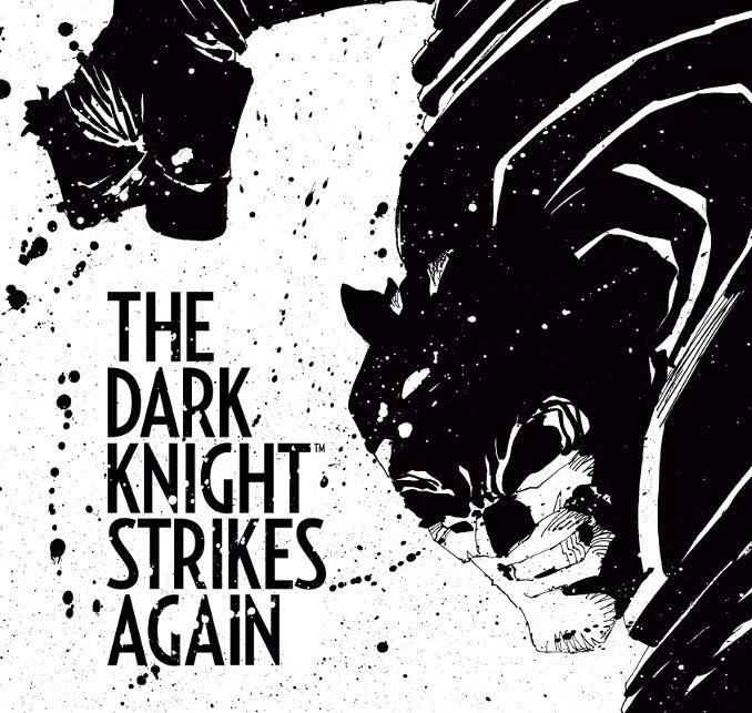 Batman Frank Miller DKR Dark Knight Strikes Again
