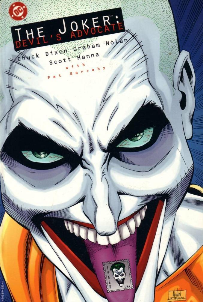 Batman JOker Devil's Advocate