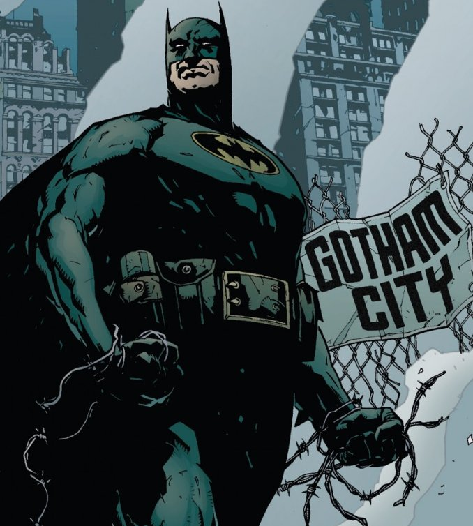 Batman No Man's Land