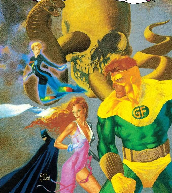 Batman Outsiders Oeil du Serpent