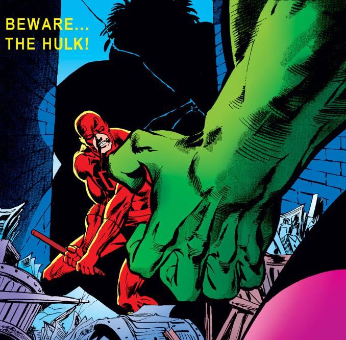 hulk Daredevil