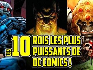 rois DC Comics