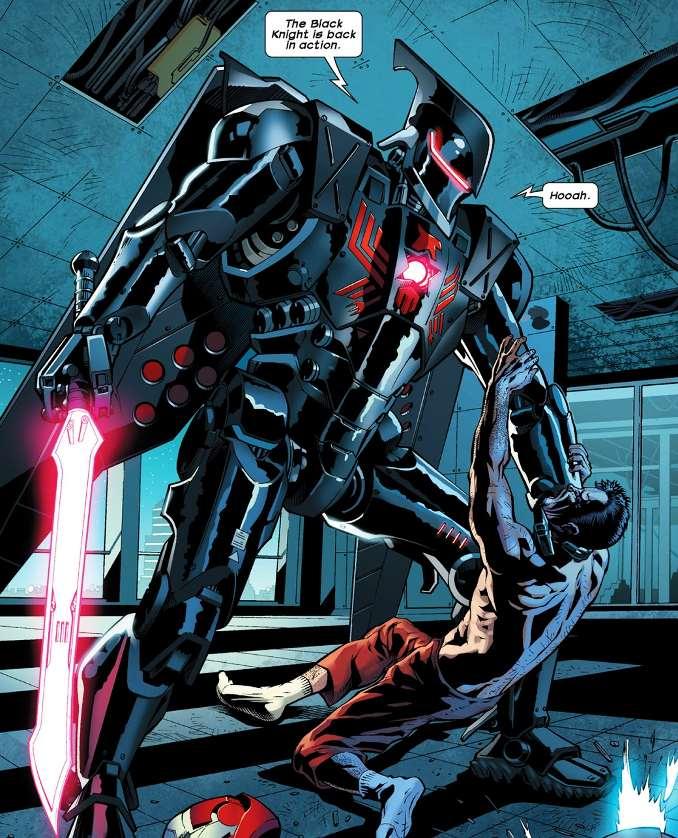 Black Knight cyborg ultimate