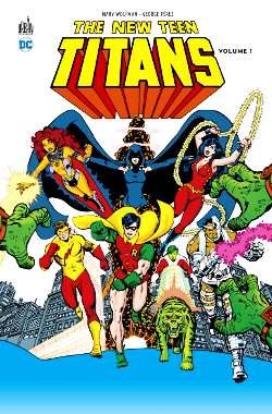 New Teen Titans george perez marv wolfman