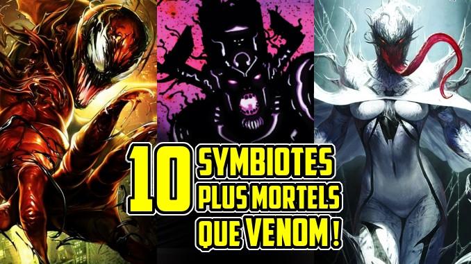 Venom carnage symbiotes