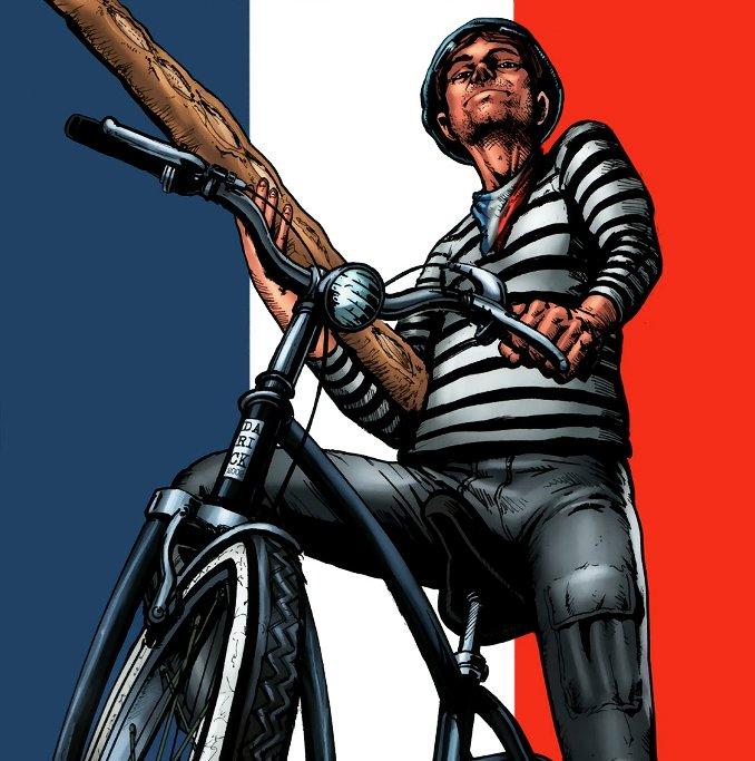 français personnages comics français france