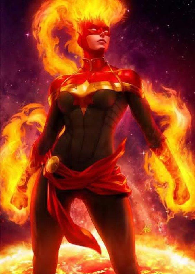 héros importants Carol Danvers