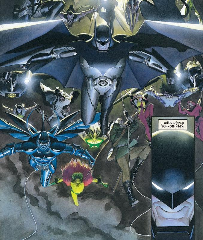 Batman armure costume kingdom come