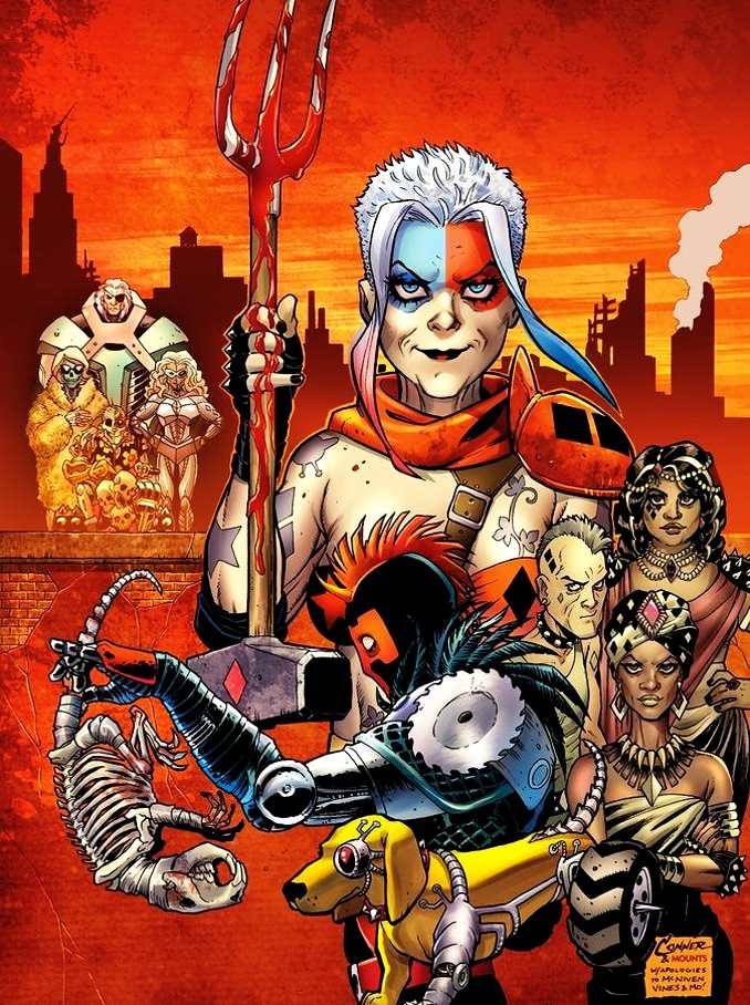 old lady harley quinn