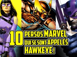 persos appelés Hawkeye