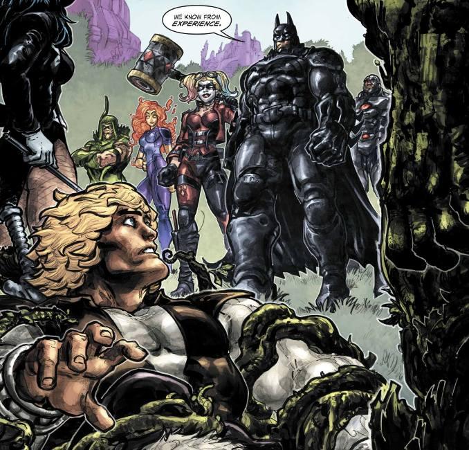 Injustice vs les maitres de l'univers batman harley quinn zatanna