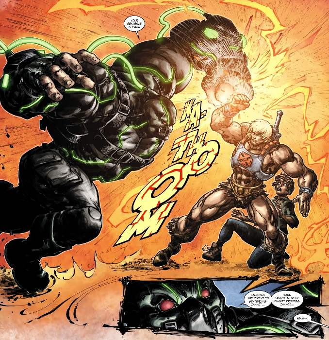 Injustice vs les maitres de l'univers musclor