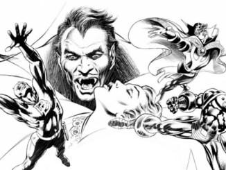 Gene Colan Les Maîtres de la BD américaine dracula daredevil iron man
